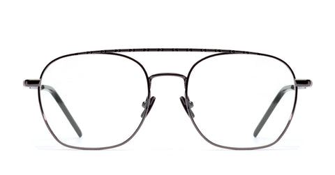 Italia Independent - Joey Glossy Gunmetal Eyeglasses / Demo Lenses