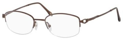 Emozioni - 4321 N Brown Eyeglasses / Demo Lenses