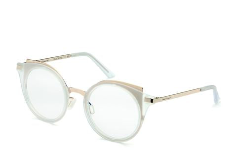 Italia Independent - Michelle Crystal + Gold Eyeglasses / Demo Lenses