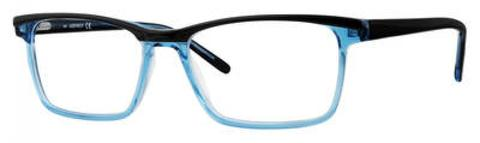 Adensco - Ad 119 52mm Blue Crystal Eyeglasses / Demo Lenses