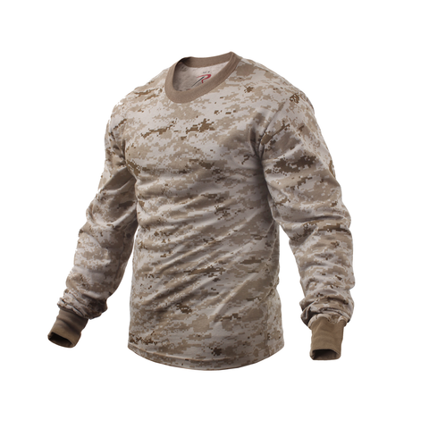 Rothco - Desert Digital Camo Long Sleeve Tee