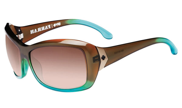 Spy - Farrah Mint Chip Fade Sunglasses, Happy Bronze Polar Lenses