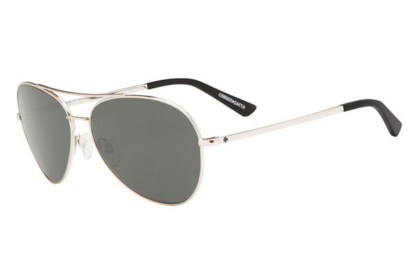 Spy - Whistler GP Silver Sunglasses, Happy Grey Green Lenses