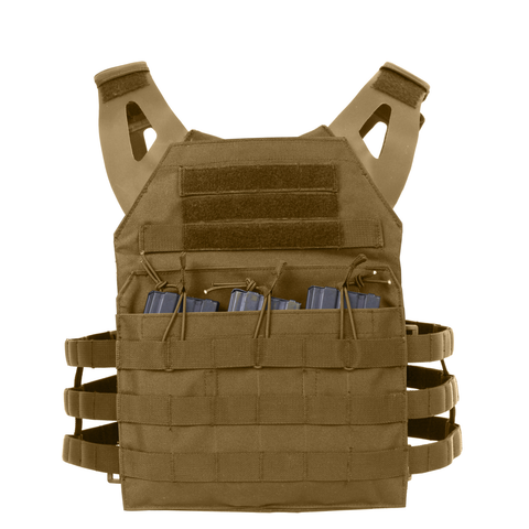 Rothco - Lightweight Armor Plate Coyote Brown Carrier Vest