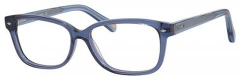 Fossil - Fos 6063 Blue Eyeglasses / Demo Lenses