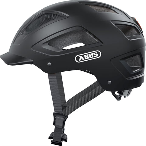 Abus - Hyban 2.0 Large 56-61cm Velvet Black Bike Helmet