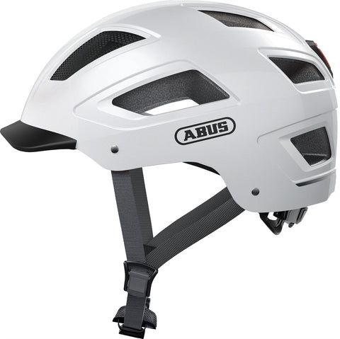 Abus - Hyban 2.0 Medium 52-58cm Polar White Bike Helmet