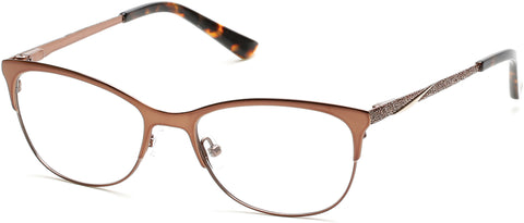 Rampage - RA0196 Shiny Dark Brown Eyeglasses / Demo Lenses
