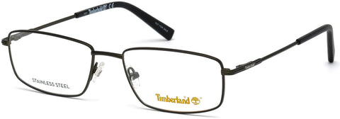 Timberland - TB1607 56mm Matte Dark Green Eyeglasses / Demo Lenses