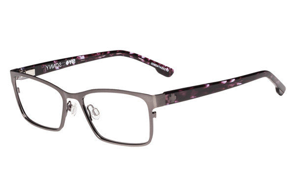 Spy - Sonny Brushed Gunmetal/Purple Camo Tort Rx Glasses