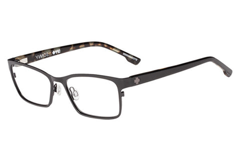 Spy Sonny Matte Black/Black Tort Rx Glasses
