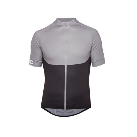 POC - Essential XC Steel Grey  Zip Tee /  Lenses