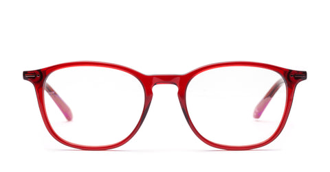 Italia Independent - Giorgio Glossy Bordeaux Eyeglasses / Demo Lenses