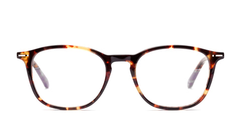 Italia Independent - Giorgio Glossy Havana Brown Eyeglasses / Demo Lenses