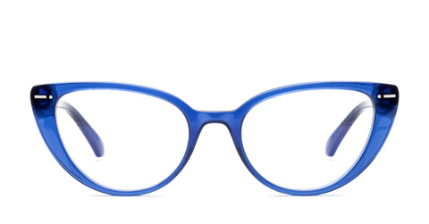 Italia Independent - Serena Dark Blue Eyeglasses / Demo Lenses