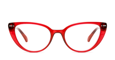 Italia Independent - Serena Bordeaux Eyeglasses / Demo Lenses