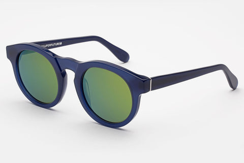 Super Boy Deep Blue Sunglasses