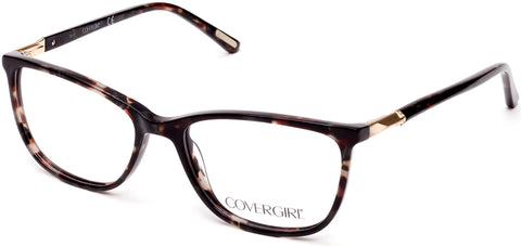 Cover Girl - CG0541 Black Eyeglasses / Demo Lenses