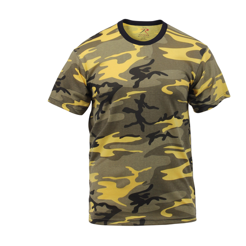 Rothco - Colored Stinger Yellow Camo T-shirt