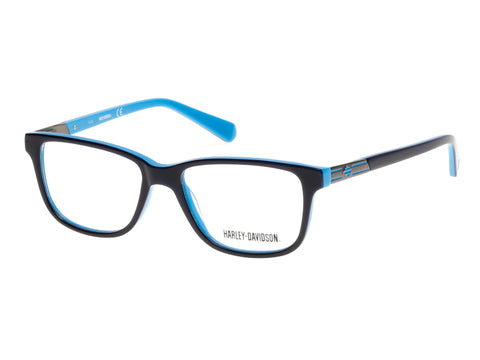 Harley-Davidson - HD0131T Blue Eyeglasses / Demo Lenses