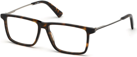 Diesel - DL5312 Dark Havana Eyeglasses / Demo Lenses