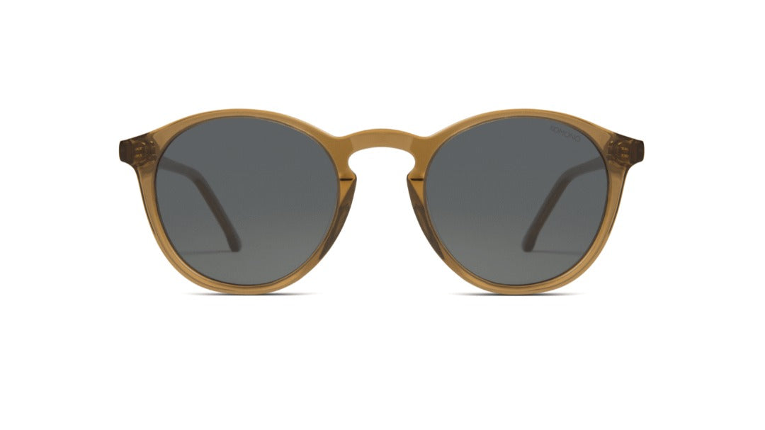 Komono - The Aston Sand Sunglasses / Black Smoke Lenses