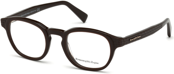 Ermenegildo Zegna - EZ5108 Dark Brown Eyeglasses / Demo Lenses