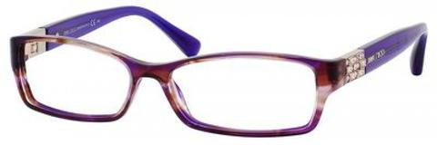 Jimmy Choo - Jc 41 Violet Gold Eyeglasses / Demo Lenses