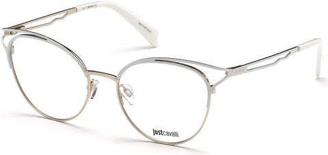 Just Cavalli - JC0860 White Eyeglasses / Demo Lenses