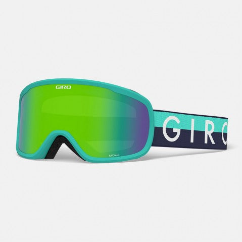 Giro - Moxie Glacier Throwback Snow Goggles / Loden Green + Yellow Lenses