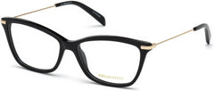 Emilio Pucci - EP5083 Shiny Black Eyeglasses / Demo Lenses