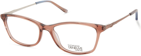 Catherine Deneuve - CD0423 Shiny Light Brown Eyeglasses / Demo Lenses