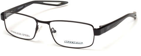 Skechers - SE3224 Matte Black Eyeglasses / Demo Lenses