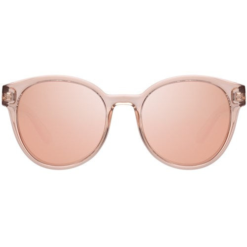 Le Specs - Paramount Tan Sunglasses / Brass Revo Mirror Lenses
