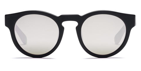 Westward Leaning - Voyager 37 Matte Black Sunglasses / Super Silver Mirror Lenses