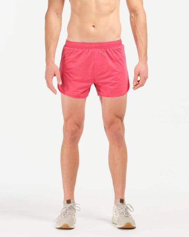 Rhone - 4 in Swift Knit Lined Rococco Red Shorts