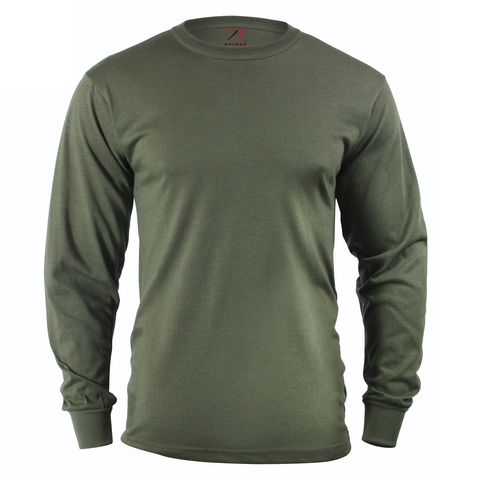 Rothco - Solid Olive Drab Long Sleeve Tee