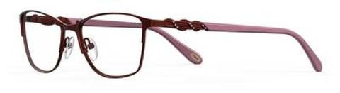Emozioni - 4390 54mm Opal Burgundy Eyeglasses / Demo Lenses