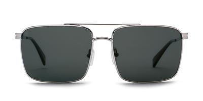Kaenon - Clemente Matte Black Sunglasses / Grey 12 Pacific Blue Mirror Lenses