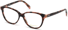Emilio Pucci - EP5077 Dark Brown Eyeglasses / Demo Lenses