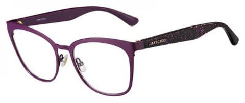 Jimmy Choo - Jc 189 Cyclamen Violet Eyeglasses / Demo Lenses