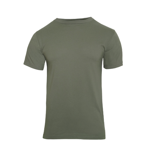 Rothco - 100% Cotton Solid Color Foliage Green T-shirt