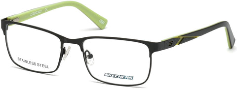 Skechers - SE3213 Matte Dark Green Eyeglasses / Demo Lenses