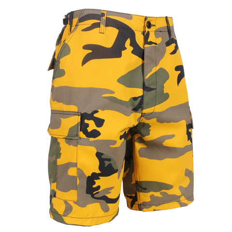 Rothco - Colored Stinger Yellow Camo BDU Shorts