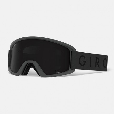 Giro - Semi Grey Core Snow Goggles / Ultra Black + Yellow Lenses