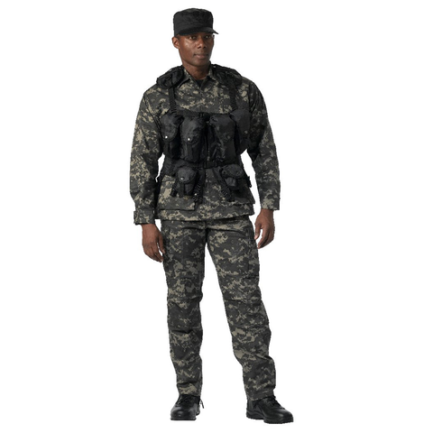 Rothco - Tactical Black Assault Vest