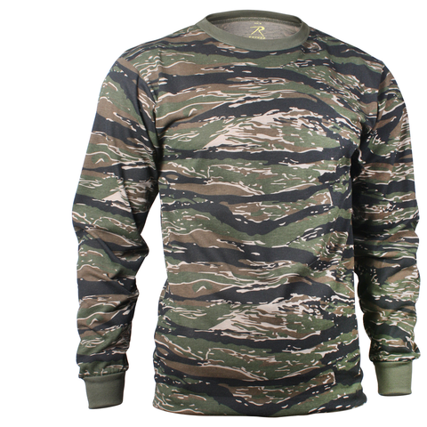 Rothco - Tiger Stripe Camo Long Sleeve Tee