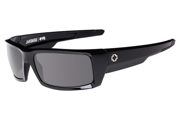 Spy - General Black Sunglasses, Grey Lenses