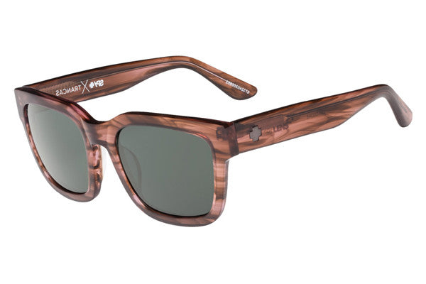 Spy - Trancas Pink Smoke Sunglasses, Happy Grey Green Lenses