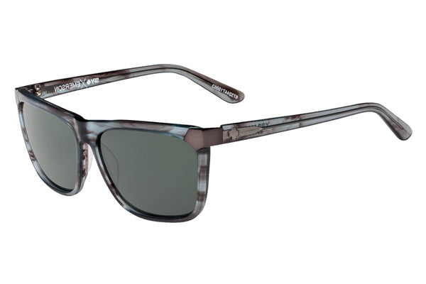 Spy - Emerson Gray Smoke Sunglasses, Happy Grey Green Lenses